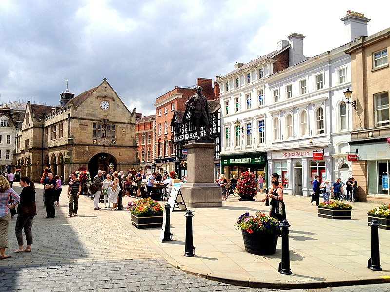 The Square, Shrewsbury, UK