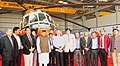 "The Tourism Minister of Uttarakhand, Shri Satpal Maharaj and the Secretary, Ministry of Civil Aviation, Shri R.N. Choubey at the inauguration of the ""1st Heli Expo India & International Civil Helicopter Conclave - 2017"".jpg"