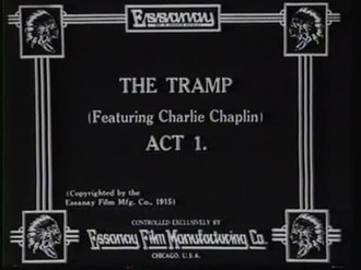 Файл:The Tramp (1915).webm