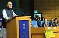 The Union Minister for Finance and Corporate Affairs, Shri Arun Jaitley addressing at the foundation day function of the Security Printing Minting Corporation of India Limited (SPMCIL), in New Delhi.jpg