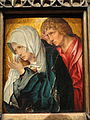The Virgin and Saint John the Evangelist, c. 1520, workshop of Jacob Cornelisz van Oostsanen - Art Institute of Chicago - DSC09618.JPG