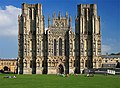 The West Front - Wells Cathedral - geograph.org.uk - 986698.jpg