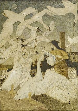 """The Wild Swans - """"The Wild Swans"""" by Arthur Gaskin"""