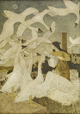 "The Wild Swans - ""The Wild Swans"" by Arthur Gaskin"