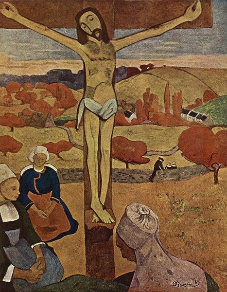 File:The Yellow Christ, Paul Gauguin.jpg