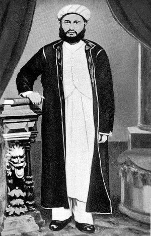 Sewa Haji Paroo - portrait of Sewa Haji