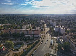 The main street of Lokhvytsia (2020).jpg