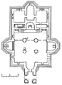 The plan of the Etchmiadzin Cathedral.png