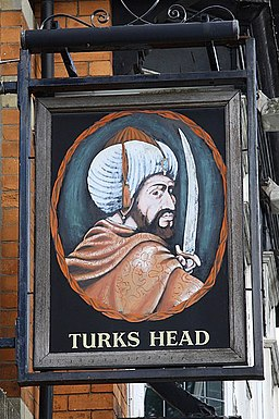 The sign of the Turks Head - geograph.org.uk - 1300151