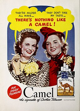 There's nothing like a Camel, 1942