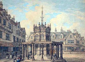 Thomas Hearne (artist) - Norwich Market Cross