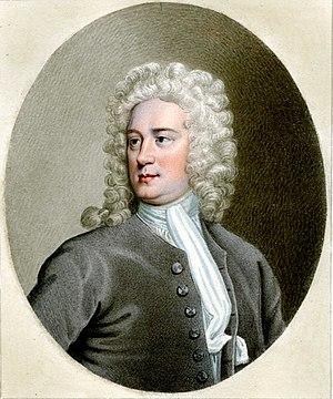Thomas Tickell - Portrait of Thomas Tickell by Sylvester Harding