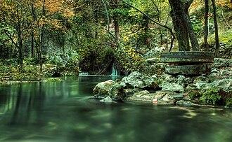 Trebižat (river) - After rise in Peć-Mlini, river is named Tihaljina.