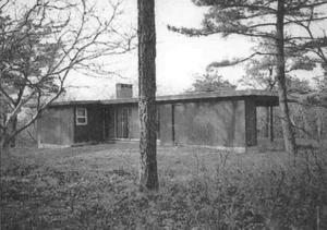 Vera and Laszlo Tisza House - Park Service photo, 1972