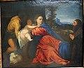 Tiziano, madonna col bambino, il battista e un donatore.JPG