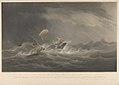 To Sir Simon H Clarke, Bart. this Print of his Schooner Kate, R.Y.S. in a Gale of Wind on the 4th of November 1840 - is Dedicated by - W.J. Huggins RMG PY8653.jpg