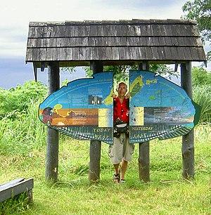180th meridian - 180° Meridian, Taveuni, Fiji