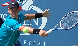 Berdych op de US Open in 2009