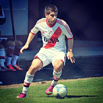 Tomás Andrade - Andrade playing for River Plate in 2013