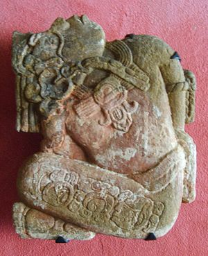 8th century - A prisoner from Palenque in Toniná