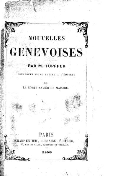 File:Topffer - Nouvelles genevoises.djvu