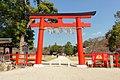 Torii of Kamigamo Shrine; April 2019.jpg