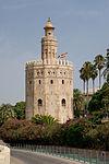 Torre del Oro flag Seville Spain.jpg