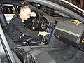 Touch screen in Prototype LAPD Pontiac G8.JPG