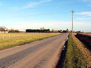 Tumby, Lincolnshire - Image: Towards Tumby Woodside geograph.org.uk 109604