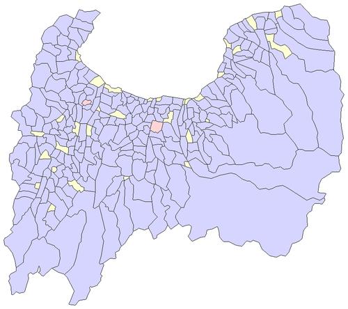 富山県の廃止市町村一覧 - Wikiw...