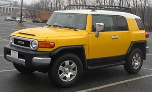 2007-2008 Toyota FJ Cruiser photographed in USA.