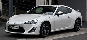Toyota 86 - Toyota GT86 (Europe)