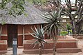 Traditional House at the national museum Botswana.jpg