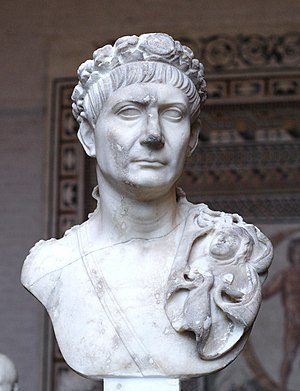 Pliny the Younger on Christians - Trajan statue, Glyptothek, Munich