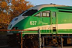 Trainspotting GO train -451 banked by MPI MP-40PH-3C -637 (8123629296).jpg