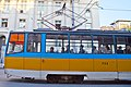 Tram in Sofia near Palace of Justice 2012 PD 034.jpg