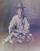 Traveler meal 1900s korea.jpg