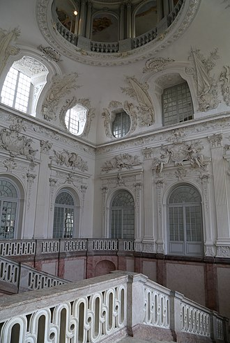 Schleissheim Palace - Grand Staircase