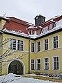 Treuenbrietzen Johanniter-Krankenhaus Uhrenturm Wasserbehaelter.jpg