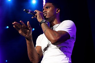 Trey Songz - Trey Songz performing at Summer Jam on June 5, 2010.