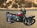 Triumph Scrambler Modded w Thunderbike Exhaust Renthal Road Ultra Low Handlebars Clearwater Lights (2014) Rt Side.jpg