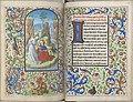 Trivulzio book of hours - KW SMC 1 - folios 157v (left) and 158r (right).jpg
