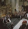 Troonswisseling 30 april inhuldiging in Nieuwe Kerk overzicht (6x6) duplicaa, Bestanddeelnr 253-8204.jpg