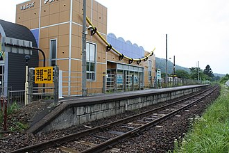 Tsugaru-Futamata Station - Tsugaru-Futamata Station in August 2008