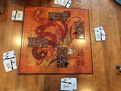 Picture of a game: Tsuro