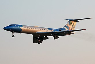 Azerbaijan Airlines Flight 56 - A Tu-134B-3 similar to the accident aircraft