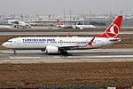 Turkish Airlines, TC-LCB, Boeing 737-8 MAX (40671590023).jpg