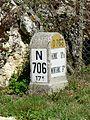 Tursac Reignac borne N706.jpg