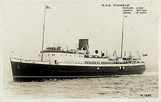 SS Tynwald (1936) - Image: Tynwald 1930s 01