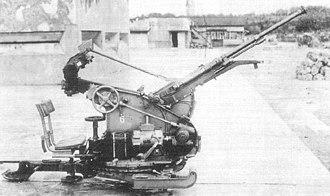 Type 2 20 mm AA machine cannon - Image: Type 2 20 mm AA machine cannon